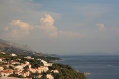 Brela, Croacia, año 2010 Imagen de archivo libre de regalías