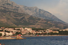 Brela, Croacia, año 2010 Foto de archivo