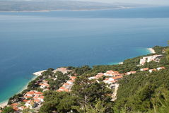Brela, Croatia Royalty Free Stock Photo