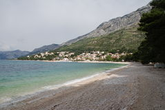 Brela, Croatia Stock Photography
