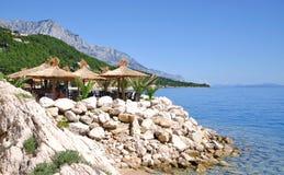 Brela,Makarska Riviera,Dalmatia,Croatia Stock Images