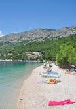 Brela,Makarska Riviera,Dalmatia,Croatia Stock Photography