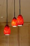 Breloczków światła w kuchni Obrazy Royalty Free