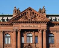 Brema, Germania - edificio per uffici di Deutsche Bank immagini stock libere da diritti