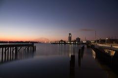 Brema - porto da indústria Foto de Stock Royalty Free