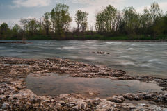 bremboflod Royaltyfri Foto