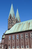 The Bremen Cathedral Royalty Free Stock Photos