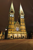 Bremen Cathedral in Germany Stock Image