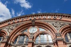Bremen centrali stacja Obraz Royalty Free