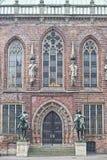 Bremen city hall statue Stock Images