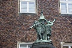 Bremen city hall statue Royalty Free Stock Photos