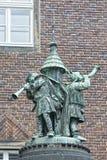 Bremen city hall statue Stock Photo