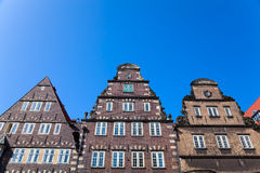Bremen, Germany. Old Architecture in Downtown Bremen, Germany Royalty Free Stock Images