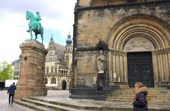 Bremen - katedra - I - Zdjęcie Stock