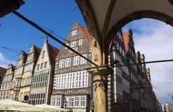 Bremen - markt - I - Stock Foto