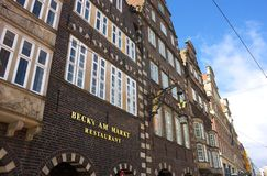 Bremen - marktplaats - II - Royalty-vrije Stock Foto's