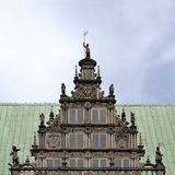 Bremen medieval town hall detail Stock Images