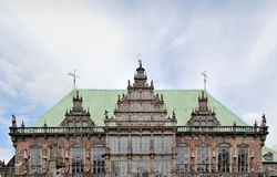 Bremen medieval town hall facade Royalty Free Stock Photography
