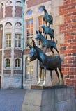 Bremen-Musiker Lizenzfreies Stockfoto