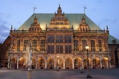 Bremen-Rathaus Stockbild