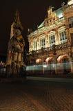 Bremen Roland is een standbeeld van Roland Stock Foto