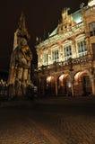 Bremen Roland ist eine Statue von Roland Stockfotos