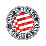 Bremen rubber stamp. Bremen city  grunge rubber stamp Stock Photos