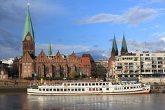 Bremen scenery Royalty Free Stock Photos