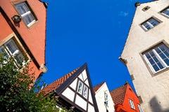 Bremen-Schnoor, Duitsland. royalty-vrije stock afbeelding