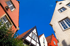 Bremen-Schnoor, Germany. Old Houses in Bremen, Germany Royalty Free Stock Image
