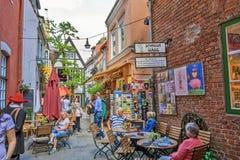 Bremen Schnoor Quarter Royalty Free Stock Photos