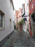 Bremen & x28; Schnoor& x29; royalty-vrije stock afbeeldingen