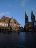 Bremen stad royaltyfri fotografi
