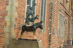 Bremen stadmusiker Royaltyfri Bild