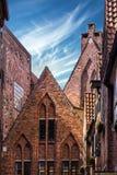 Bremen-Stadt in Deutschland Berühmte alte Straße Bottcherstrasse Stockfotos