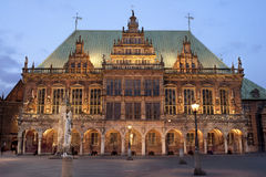 Bremen town hall stock image