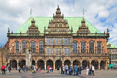 Bremen Town Hall, Germany Royalty Free Stock Images