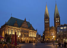 Bremen -Town hall Royalty Free Stock Photo