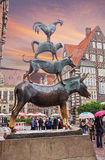 Bremen Town Musicians Royalty Free Stock Photography