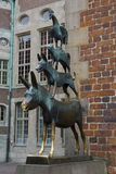 The Bremen Town Musicians Stat Stock Image