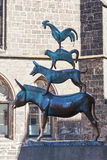 The Bremen Town Musicians Statue Royalty Free Stock Photo