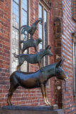 The Bremen Town Musicians Statue Stock Photos