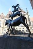 Bremen Town Musicians Statue Stock Photography