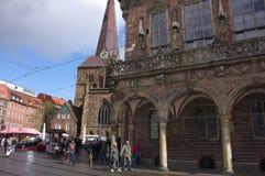 Bremen - townhall Royalty-vrije Stock Afbeeldingen