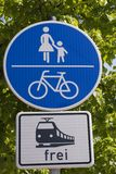 Bremen traffic signs Stock Image