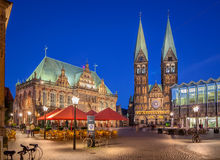 Bremen Tyskland Arkivbild