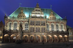 Bremen urząd miasta Obraz Stock
