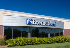 Bremer Bank Exterior Royalty Free Stock Images