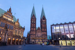 The Bremer Dom Cathedral Royalty Free Stock Photo