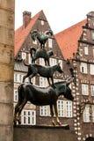 Bremer Stadtmusikanten стоковая фотография
